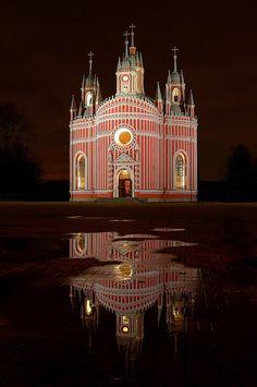 The Chesme church, St. Petersburg by Yakov Volkind, via 500px