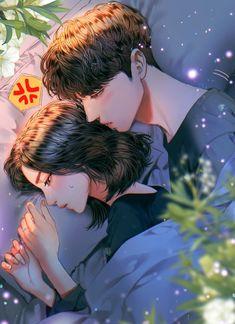 Romantic Anime Couples, Romantic Manga, Manga Couple, Anime Love Couple, Anime Couples Drawings, Anime Couples Manga, Cute Anime Boy, Anime Art Girl, Cute Romance
