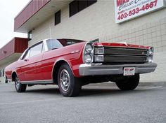 1965 Galaxy - We Had One of These!! Dark Red