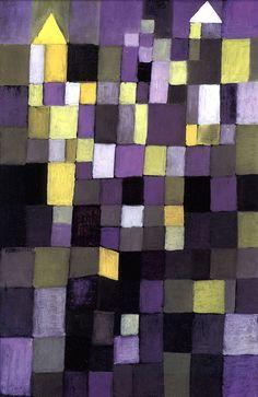 Paul Klee, Architecture, 1923. via