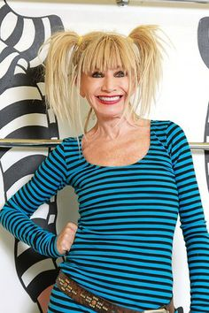 Betsey Johnson-I love her!  Avant garde, ageless, iconic and a SURVIVOR!