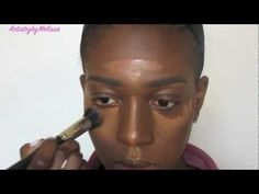 HOW TO: Highlight and Contour Tutorial for black women