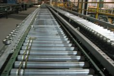 Rapistan 1278 Narrow Belt Live Roller Conveyor. Call for price: 616-887-8886. Quantity: 500 feet, plus 13 drives