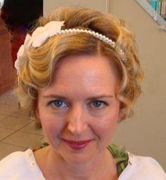 Short hair Bride by Judy Hayward