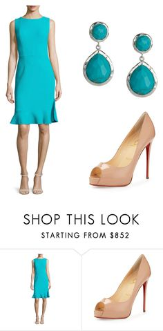 """""""Casual dress up day 10.0"""" by sarahshawverisawesome on Polyvore featuring Oscar de la Renta, Christian Louboutin and Ippolita"""