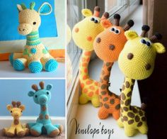 Crochet Giraffes Free Patterns
