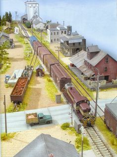 Scenery for Model Trains at http://www.modelscenery.org