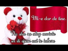 Mesaje de dragoste - YouTube Teddy Bear, Cats, Google, Youtube, Animals, Gatos, Animales, Animaux, Teddy Bears