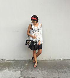 Fashion on Stage: black&white e una new in firmata Maliparmi