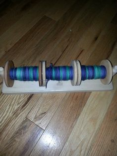 Sock yarn before plied