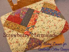 Moda Bake Shop: Strawberry Marmalade Quilt