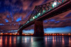 Jacques Cartier bridge by Alex Rykov on 500px