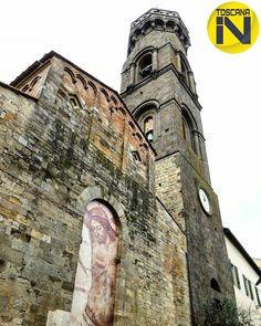 si congratula con:  @padovanisonia per il bellissimo scatto  Grazie per aver condiviso con noi una tua emozione. 30/05/2016 foto scelta da @chiarasinclair è gradito il repost anche temporaneo.  #toscana_in #to_in_padovanisonia #peccioli #travelingram #travel #jesus #italytrip #italytravel #travelgram #arch #fotografiitaliani #stonewall #nature #church #architecture #painting #sky #belfry #details #window #view #art #tourism#toscana#instagramers#italy_photolovers #tuscany #fotografia by…