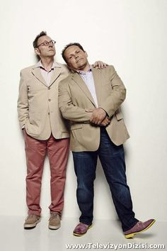 Michael Emerson and Kevin Chapman