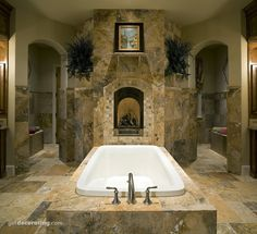 Master Bathrooms - I would never leave my bathroom. Ever!