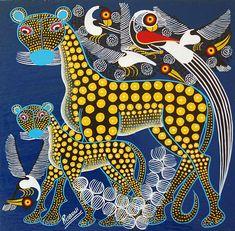 Courtesy of Tinga Tinga Studio. Artist, Rubuni Rashidi.