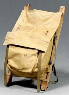 Trapper Nelson Indian Pack. I recently bought one like this for $40. at a local antique mall and am very happy! Story is mine is from somewhere up in Vancouver Islands BC c. 1920's