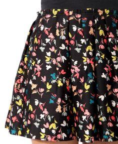 Floral Print Miniskirt | FOREVER21 -