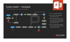 Have you already tried our modernly designed Flow Chart Toolbox that provides you with well-structured slides for PowerPoint? Download now at http://www.presentationload.com/flow-chart-toolkit-1.html