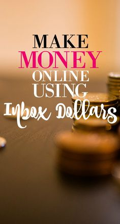 Make extra money online using Inbox Dollars. Click the pin to find out how!