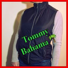 """🌺🌺 NWOT Tommy Bahama Vest Coco Brown Size Med🌺 🌺 Amazing Chocolate Tommy Bahama Vest Silver Hardware, Two Front Zip Pocket, shoulder to hem 22"""", NWOT Perfect Condition. Retail $150🌺🌺🌺🌺 Tommy Bahama Jackets & Coats Vests"""