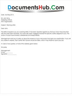 Printable Official Warning Letter Template Example Updated by caco. Official warning letter template, No matter what size of company you work for or possess, there will most likely come a time that you have to write a ... Free Cover Letter, Cover Letter Design, Cover Letter Template, Letter Templates, Printable Anniversary Cards, Anniversary Cards For Husband, Funny Anniversary Cards, Free Label Templates, Diaper Invitation Template