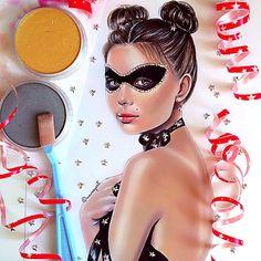 """My new work """"Masquerade"""""""