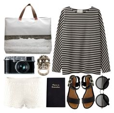 """""""Beach"""" by chloewinstanley ❤ liked on Polyvore"""