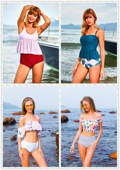 Make a splash with beachsissi's range of bathing suits and bikinis for women. Browse for one and two-piece swimsuits in flattering fits and on-trend colors. Swimwear Fashion, Bikini Fashion, Country Girls Outfits, Girl Outfits, Two Piece Swimwear, Nfl Cheerleaders, Lesbians, Kissing, Color Trends