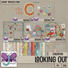 Looking Out Collection #triplejdesigns