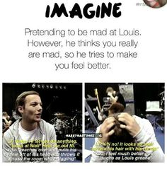 image discovered by Sugar.) your own images and videos on We Heart It Louis Tomlinson Imagines, Louis Imagines, 1d Imagines, Harry Styles Imagines, One Direction Drawings, One Direction Images, One Direction Humor, I Love One Direction, 1d Day