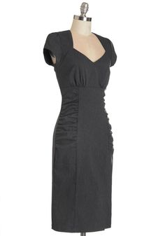 318d2b721 Piano Bar Chanteuse Dress in Charcoal. When your friends are in the mood  for a
