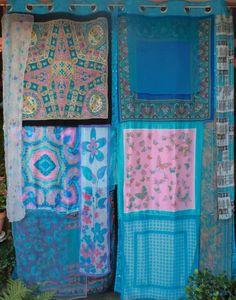 BOMBAY SAPPHIRE Handmade Gypsy Curtains