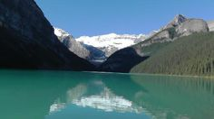 Lake Louise from Rocky Mountaineer