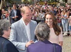 The Duke and Duchess of Cambridge visit Truro Cathedral at the start of a…