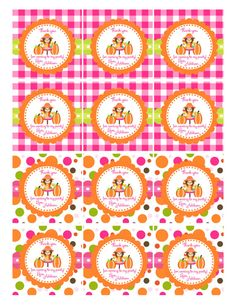 Little Pumpkin 1st Birthday Favor Tags