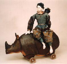 Marlaine Verhelst: Riding a Rhinoceros
