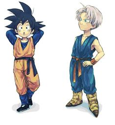 My name is Agnes and I'm huge DragonBall Z fan! I ship Vegeta x Bulma (and Trunks x Goten), love fanarts and fanfics. If you feel like chatting about DBZ or anything, don't hestitate and send me a msg! Akira, Goten E Trunks, Manga Anime, Anime Art, Dragon Ball Z Shirt, Vegeta And Bulma, Animation, Cosplay, Fan Art