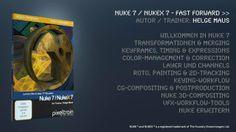 NUKE 7 /  NUKEX 7 mit Helge Maus /pixeltrain lernen. Deutschsprachiges Trainings-Publikation mit über 17 Stunden als Video-on-Demand. E30, Videos, Training, Author, German Language, Learning, Education, Video Clip, Exercise