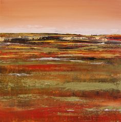 Original Landscape Painting Abstract Art Canvas by Tamarrisart