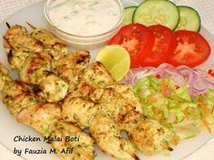 Chicken Malai Boti | Fauzia's Kitchen Fun