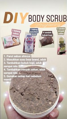 tips wangi bayi tahan lama Diy Body Scrub, Diy Scrub, Face Skin Care, Diy Skin Care, Beauty Care, Beauty Skin, Beauty Hacks, Best Skin Care Routine, Health And Beauty Tips