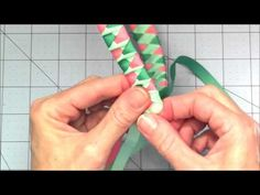 Woven Ribbon Headband with a Twist video tutorial