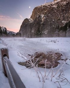 Nothing quite as breathtaking as a frozen landscape in the heart of beautiful Yosemite!