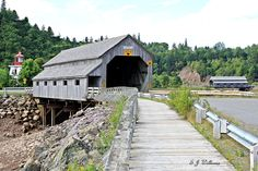 The covered bridge at St.Martins, New Brunswick. I used to come here many years ago to fly fish for Atlantic salmon