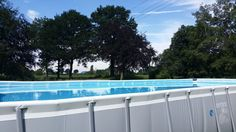 A very personal, funny review about installing an Intex Ultraframe Pool in our backyard