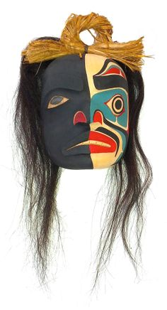 Ridicule Mask by British Columbia First Nations artist Sammy Dawson: http://www.ebay.ca/itm/111360462250?ssPageName=STRK:MESELX:IT&_trksid=p3984.m1558.l2649