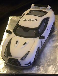 Nissan Skyline Gtr Cake