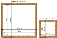 Surface Habitable, Construction, How To Plan, Houses, Ceiling Height, Homes, Building