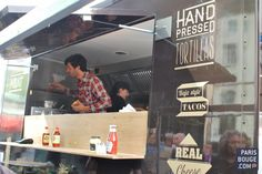 Food truck in Paris : Cantine California